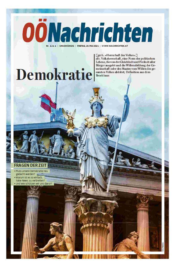 Demokratie – eine Sonderbeilage der OÖNachrichten
