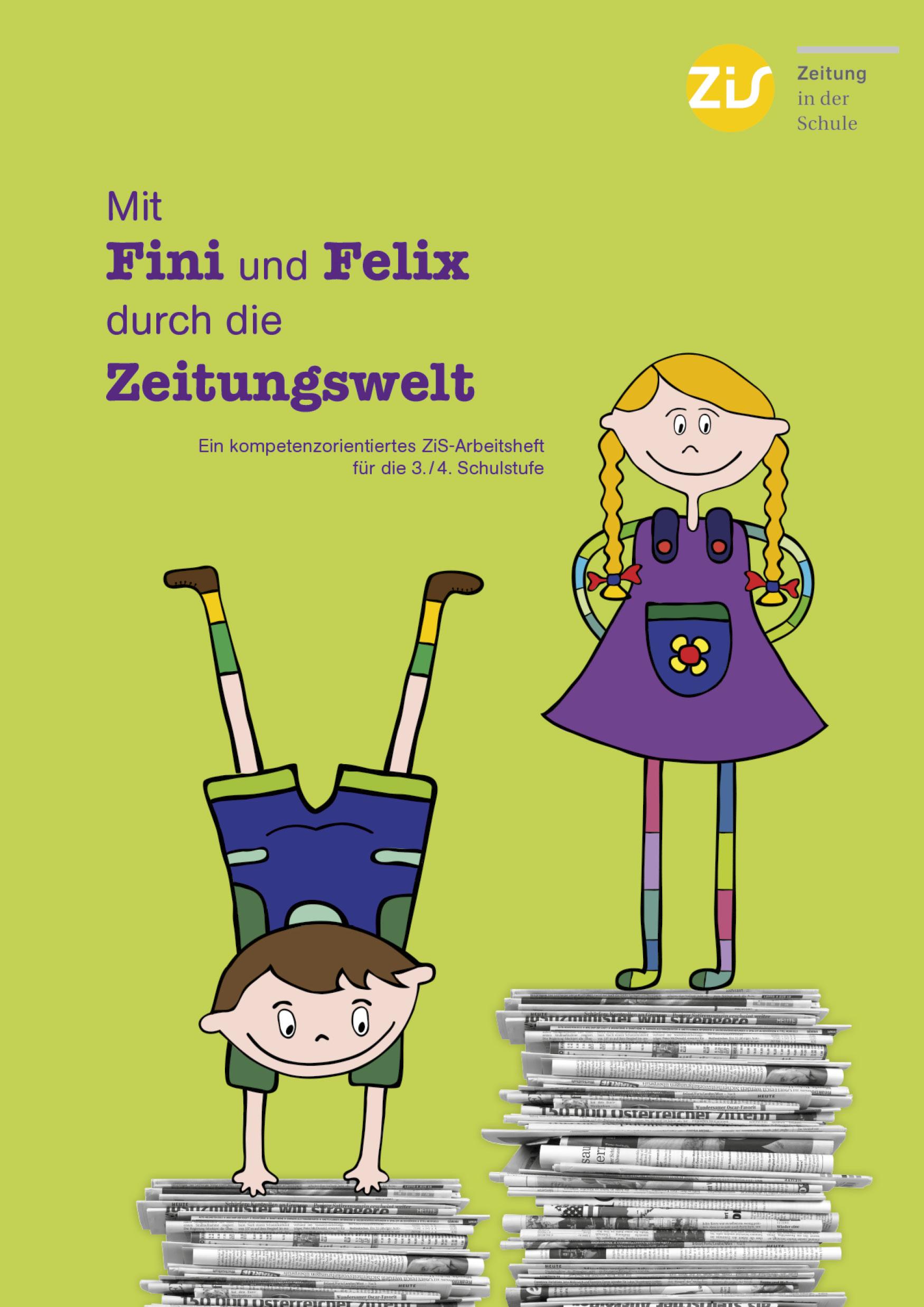 Mit Fini und Felix durch die Zeitungswelt